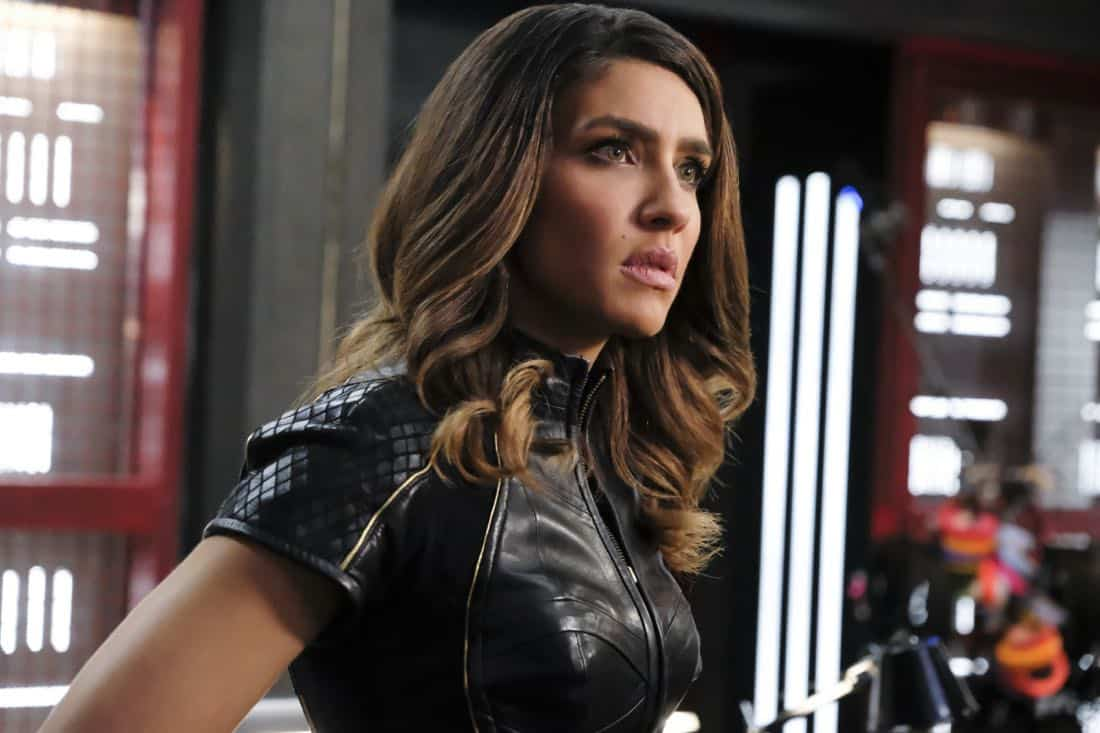 "Arrow -- ""All for Nothing"" -- Image Number: AR612a_0211.jpg -- Pictured: Juliana Harkavy as Dinah Drake/Black Canary -- Photo: Bettina Strauss/The CW -- © 2018 The CW Network, LLC. All rights Reserved."