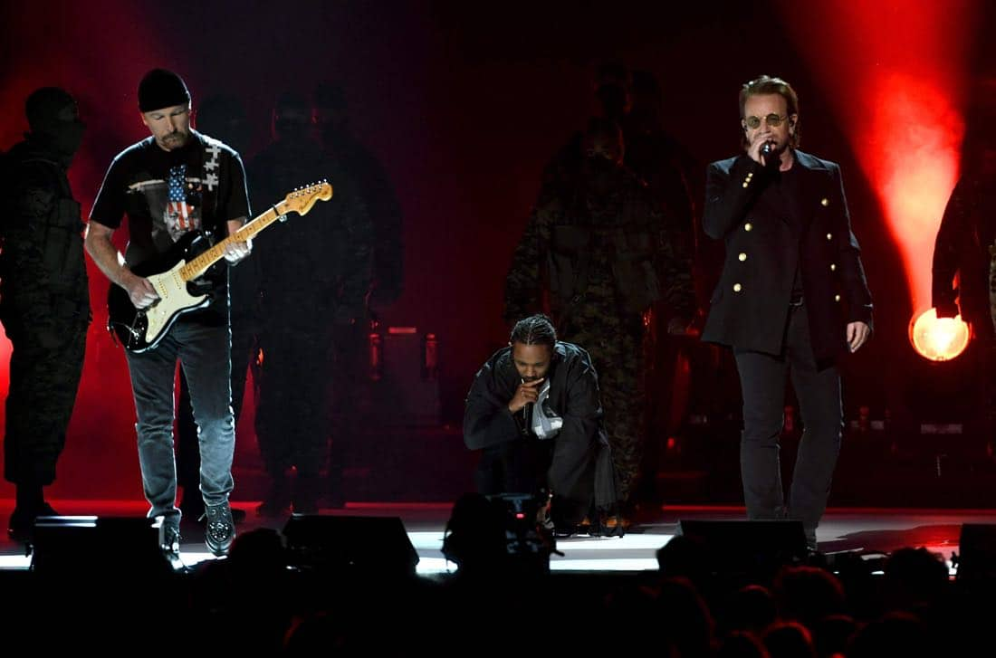 U2-Kendrick-Lamar-Grammys