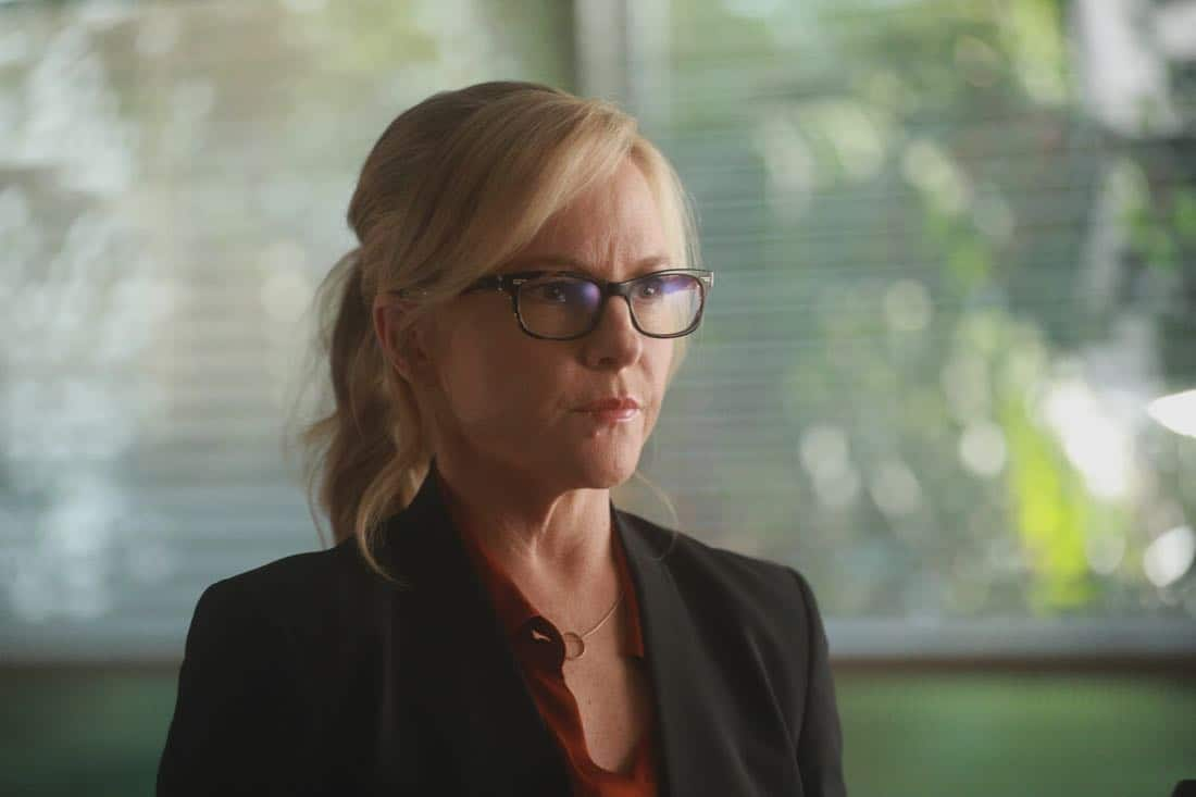 "LUCIFER: Rachael Harris in the ""My Brother's Keeper"" episode of LUCIFER airing Monday, Feb. 5 (8:00-9:00 PM ET/PT) on FOX. CR: JORDIN ALTHAUS/FOX"