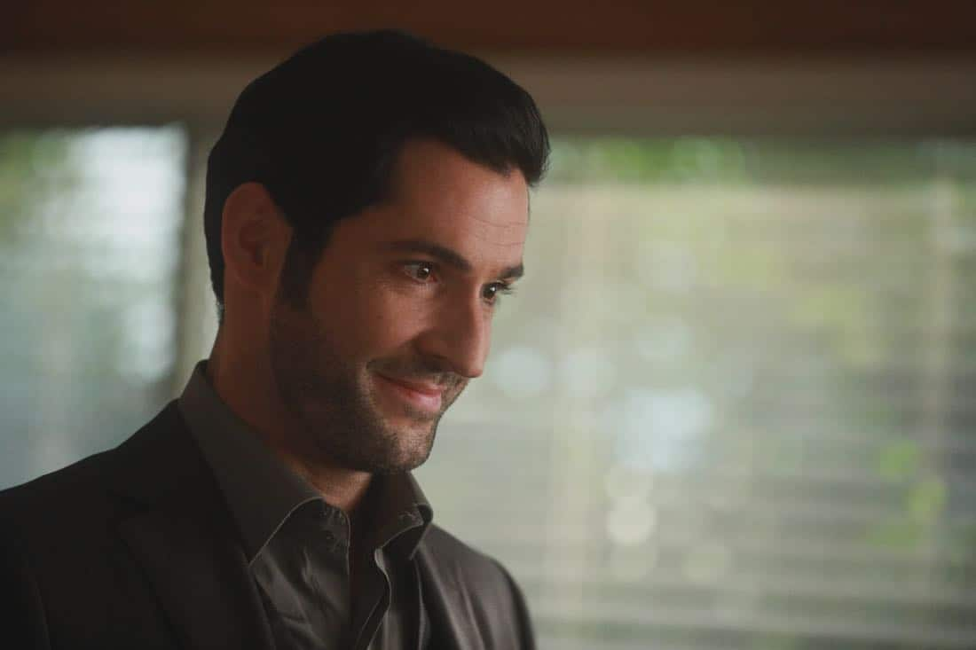 "LUCIFER: Tom Ellis in the ""My Brother's Keeper"" episode of LUCIFER airing Monday, Feb. 5 (8:00-9:00 PM ET/PT) on FOX. CR: JORDIN ALTHAUS/FOX"