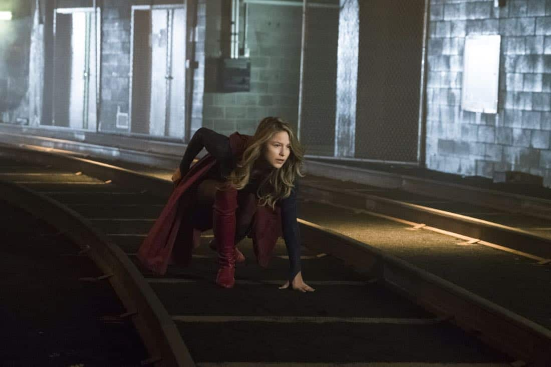 """Supergirl -- """"Both Sides Now"""" -- Image Number: SPG313c_0001.jpg -- Pictured: Melissa Benoist as Kara/Supergirl -- Photo: Katie Yu/The CW -- © 2018 The CW Network, LLC. All Rights Reserved."""