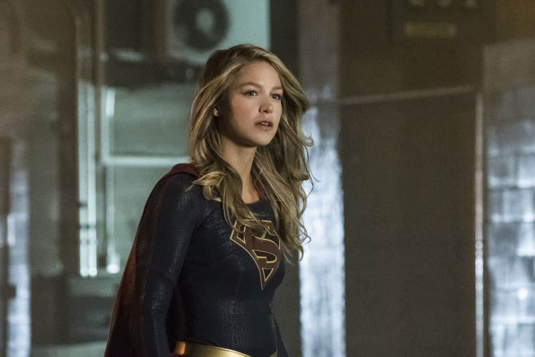 """Supergirl -- """"Both Sides Now"""" -- Image Number: SPG313c_0005.jpg -- Pictured: Melissa Benoist as Kara/Supergirl -- Photo: Katie Yu/The CW -- © 2018 The CW Network, LLC. All Rights Reserved."""