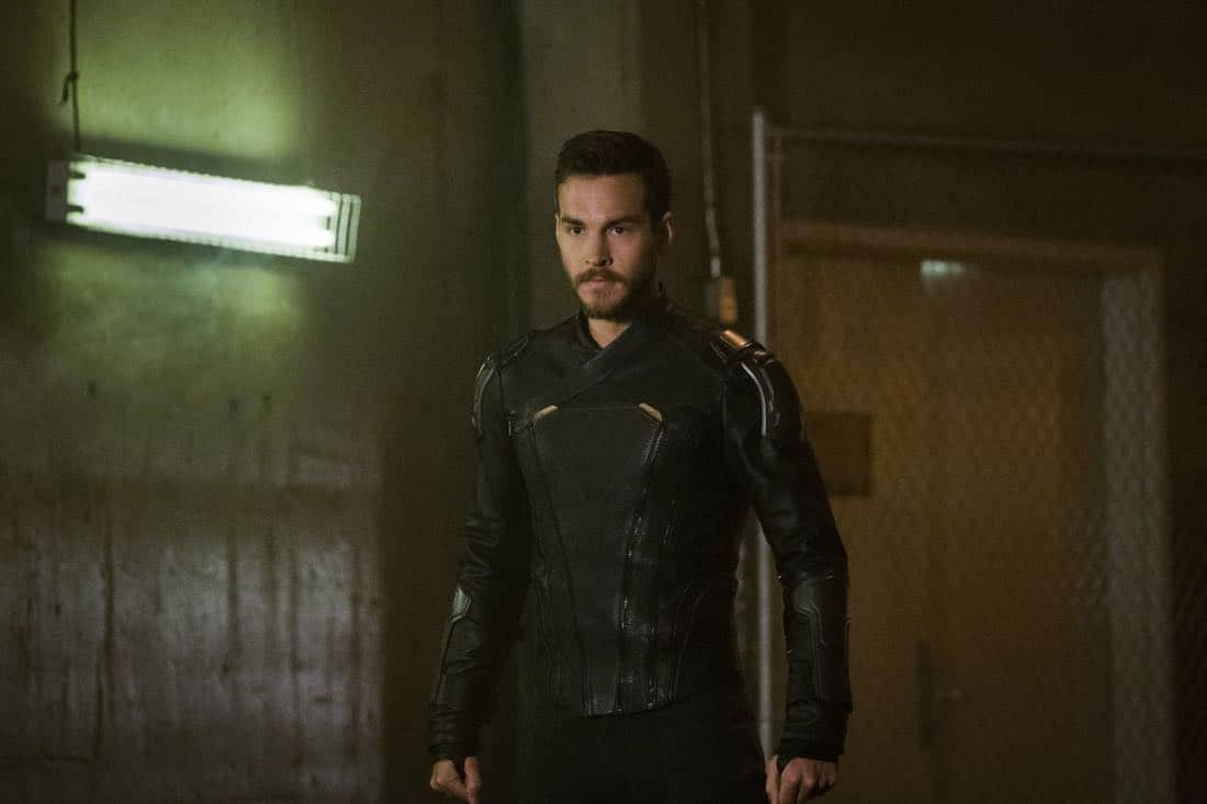 """Supergirl -- """"Both Sides Now"""" -- Image Number: SPG313c_0082.jpg -- Pictured: Chris Wood as Mon-El -- Photo: Katie Yu/The CW -- © 2018 The CW Network, LLC. All Rights Reserved."""