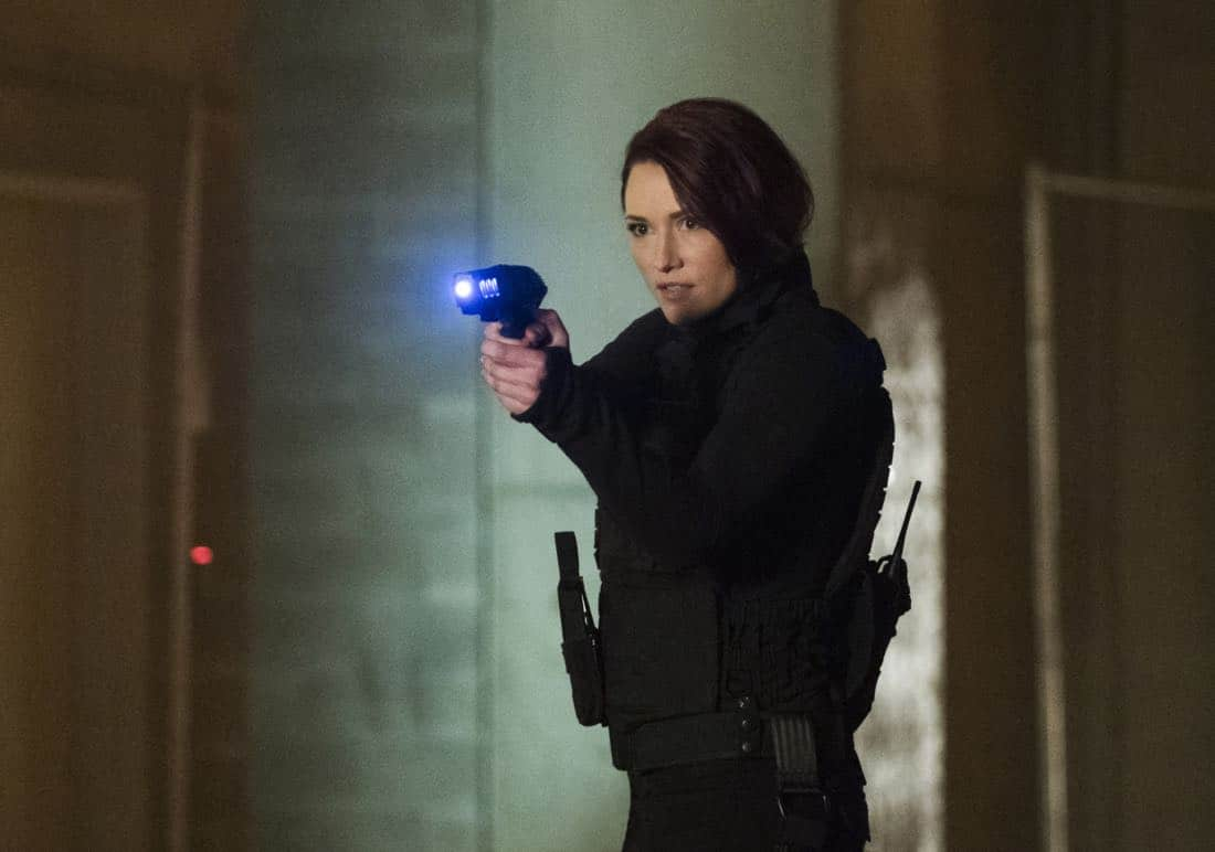 """Supergirl -- """"Both Sides Now"""" -- Image Number: SPG313c_0092.jpg -- Pictured: Chyler Leigh as Alex -- Photo: Katie Yu/The CW -- © 2018 The CW Network, LLC. All Rights Reserved."""