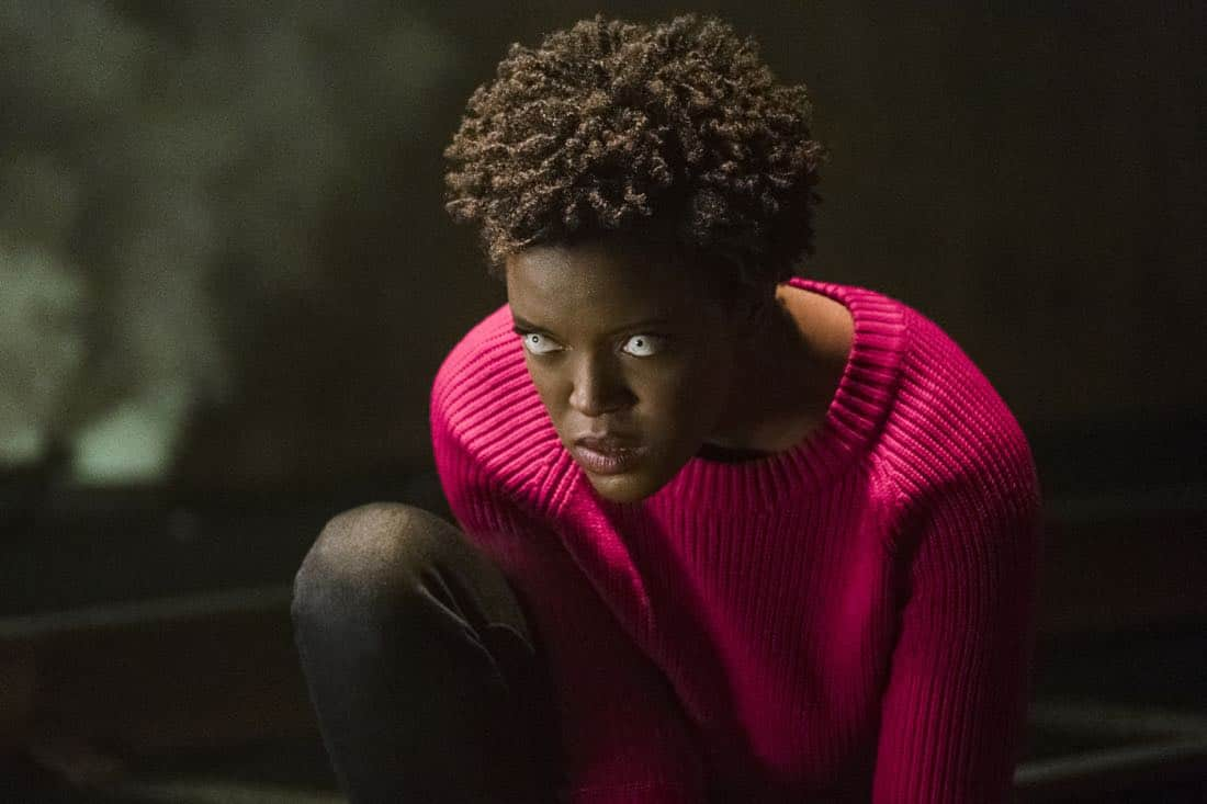 """Supergirl -- """"Both Sides Now"""" -- Image Number: SPG313c_0047.jpg -- Pictured: Krys Marshall as Julia/Purity -- Photo: Katie Yu/The CW -- © 2018 The CW Network, LLC. All Rights Reserved."""