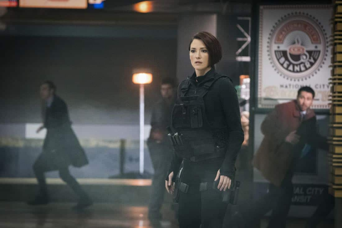 """Supergirl -- """"Both Sides Now"""" -- Image Number: SPG313c_0137.jpg -- Pictured: Chyler Leigh as Alex -- Photo: Katie Yu/The CW -- © 2018 The CW Network, LLC. All Rights Reserved."""