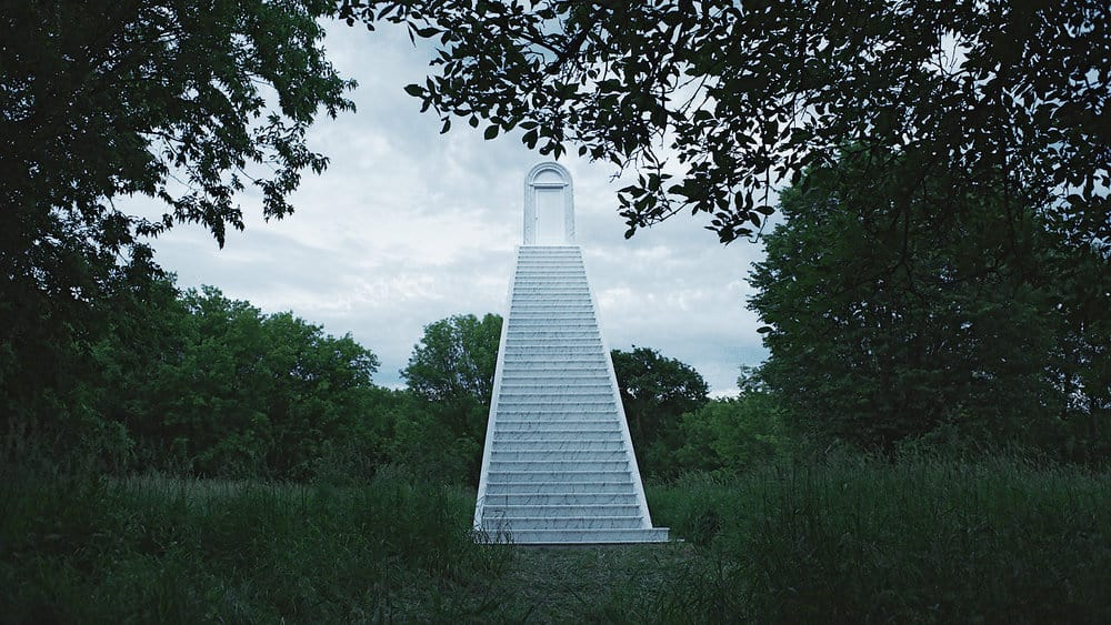 """CHANNEL ZERO: BUTCHER'S BLOCK -- """"Insidious Onset"""" Episode 301 -- Pictured: Mysterious Staircase -- (Photo by: Syfy)"""