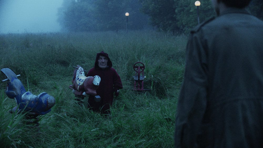 """CHANNEL ZERO: BUTCHER'S BLOCK -- """"Insidious Onset"""" Episode 301 -- Pictured: Homunculus Child -- (Photo by: Syfy)"""