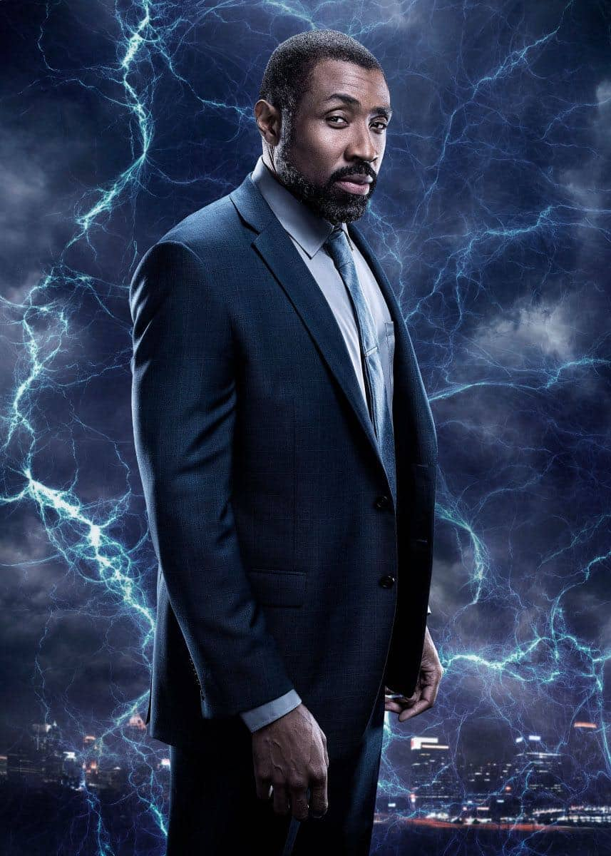 Black Lightning -- Image BLK_SINGLES_Jefferson.jpg -- Pictured: Cress Williams as Jefferson Pierce -- Photo: Marc Hom/The CW -- © 2018 The CW Network, LLC. All rights reserved