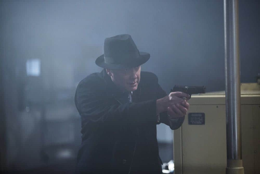 """THE BLACKLIST -- """"The Invisible Hand (#63)"""" Episode 513 -- Pictured: James Spader as Raymond """"Red"""" Reddington -- (Photo by: Eric Leibowitz/NBC)"""