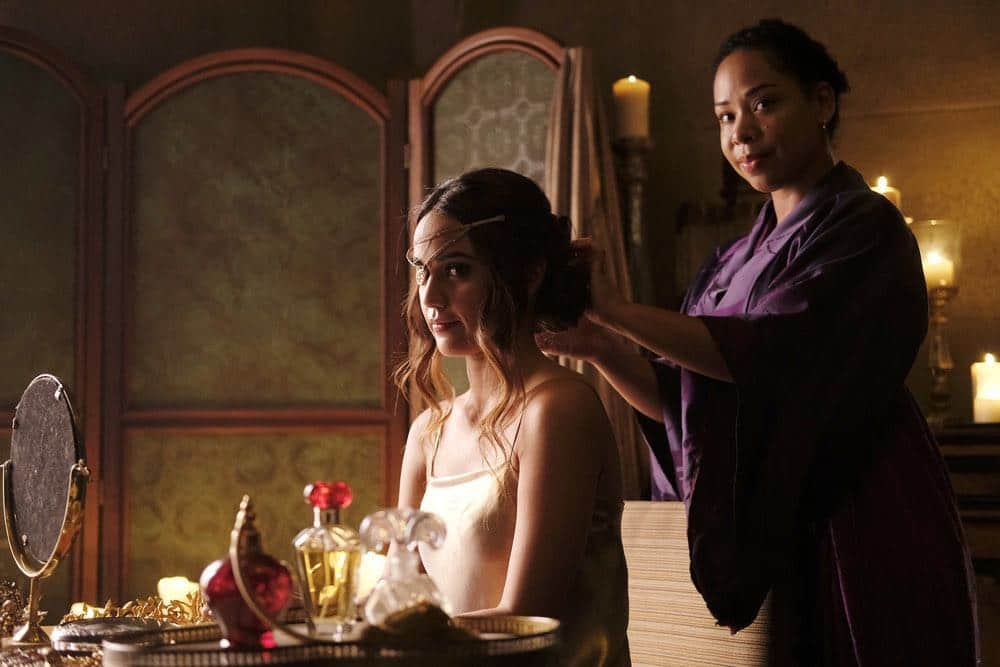 "THE MAGICIANS -- ""A Life in the Day"" Episode 305 -- Pictured: Summer Bishil as Margo Hanson -- (Photo by: Alan Zenuk/Syfy)"