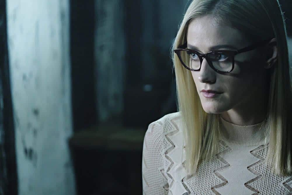 "THE MAGICIANS -- ""A Life in the Day"" Episode 305 -- Pictured: Olivia Taylor Dudley as Alice -- (Photo by: Eric Milner/Syfy)"