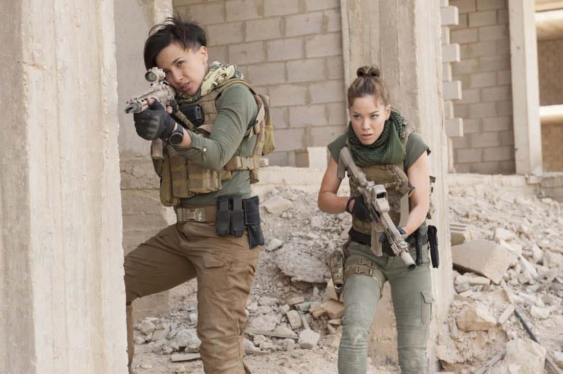 Season 5: Alin Sumarwata, Roxanne McKee. photo: Liam Daniel/courtesy of Cinemax