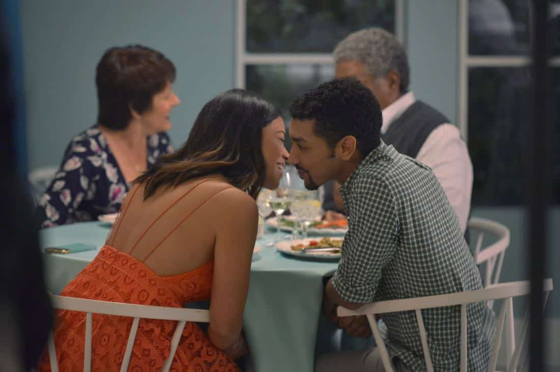 "Jane The Virgin -- ""Chapter Seventy-Four"" -- Image Number: JAV410b_0133.jpg -- Pictured (left): Gina Rodriguez as Jane -- Photo: Lisa Rose/The CW -- © 2018 The CW Network, LLC. All Rights Reserved."