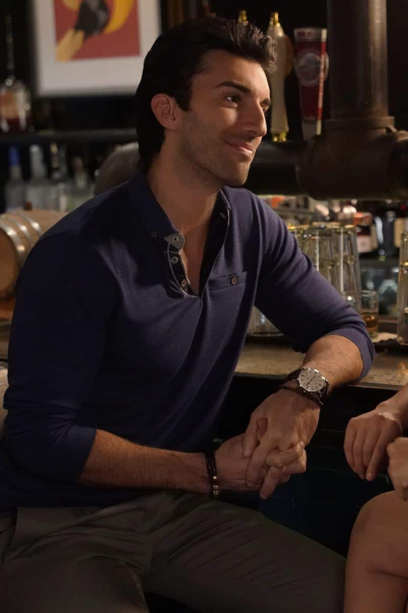 "Jane The Virgin -- ""Chapter Seventy-Four"" -- Image Number: JAV410A_0656.jpg -- Pictured: Justin Baldoni as Rafael -- Photo: Greg Gayne/The CW -- © 2018 The CW Network, LLC. All Rights Reserved."