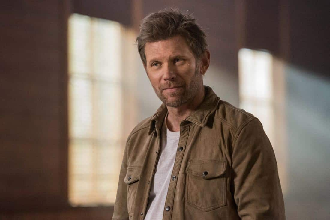 """Supernatural -- """"Devil's Bargain"""" -- Image Number: SN1313b_0111b.jpg -- Pictured: Mark Pellegrino as Lucifer -- Photo: Dean Buscher/The CW -- © 2018 The CW Network, LLC All Rights Reserved"""