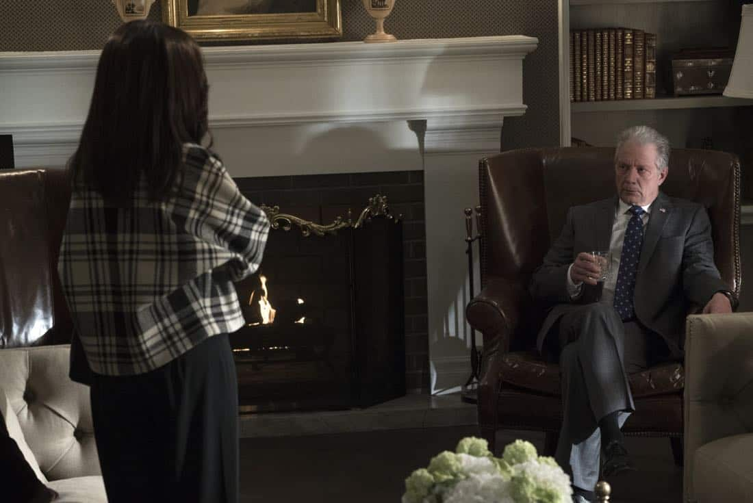 "SCANDAL - ""Army of One"" - Mellie's plans to name Jake as her new chief of staff only propels Olivia to do whatever it takes to make sure that does not happen. Back at Papa Pope's house, Quinn becomes restless, wondering just how long Rowan intends to keep her and Robin hidden from the outside world. Meanwhile at QPA, Abby, Huck and Charlie decide that it's time to move forward with new clients when their first case leads to surprising intel, on ""Scandal,"" airing THURSDAY, FEB. 8 (9:00-10:00 p.m. EST), on The ABC Television Network. (ABC/Eric McCandless) JEFF PERRY"