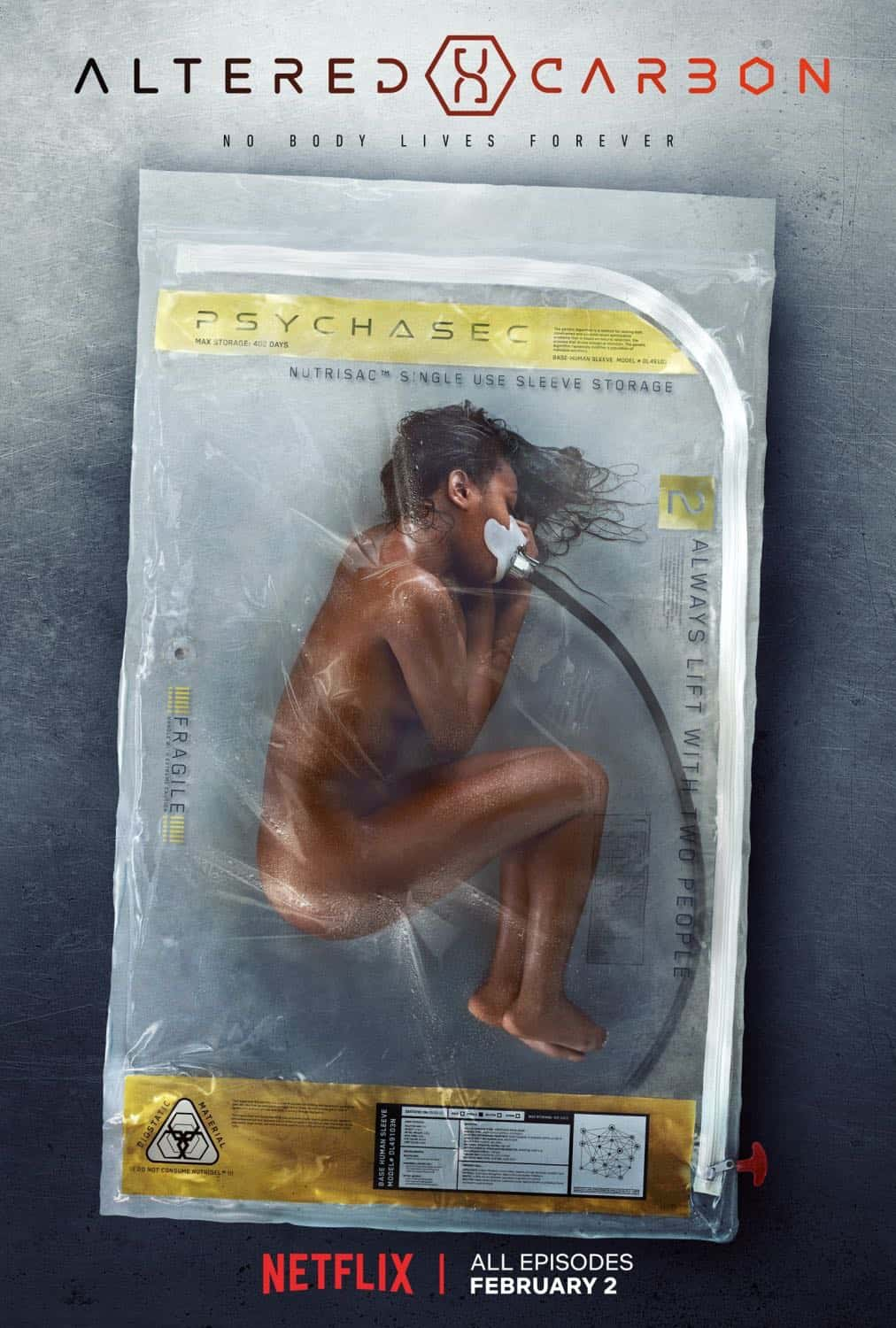 Altered Carbon Season 1 Poster