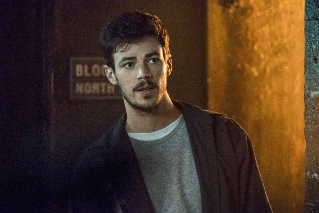 """The Flash -- """"True Colors"""" -- Image Number: FLA413a_0073b.jpg -- Pictured: Grant Gustin as Barry Allen -- Photo: Katie Yu/The CW -- © 2018 The CW Network, LLC. All rights reserved"""