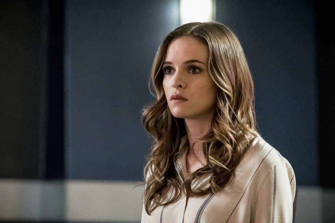 """The Flash -- """"True Colors"""" -- Image Number: FLA413b_0069b.jpg -- Pictured: Danielle Panabaker as Caitlin Snow -- Photo: Katie Yu/The CW -- © 2018 The CW Network, LLC. All rights reserved"""
