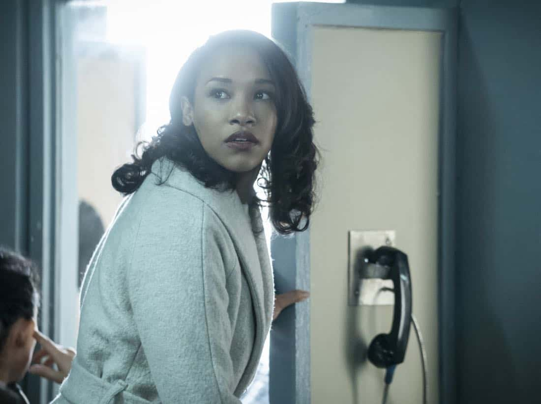 """The Flash -- """"True Colors"""" -- Image Number: FLA413a_0016b.jpg -- Pictured: Candice Patton as Iris West -- Photo: Katie Yu/The CW -- © 2018 The CW Network, LLC. All rights reserved"""