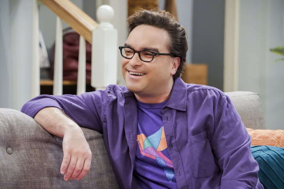 The Neonatal Nomenclature Pictured: Leonard Hofstadter (Johnny Galecki). When Bernadette wonÕt go into labor, all her friends try different tactics to get things started. Also, Wolowitz confronts Bernadette after Amy accidentally reveals sheÕs already chosen their sonÕs name, on THE BIG BANG THEORY, Thursday, March 1 (8:00-8:31 PM, ET/PT), on the CBS Television Network. Photo: Bill Inoshita/CBS ©2018 CBS Broadcasting, Inc. All Rights Reserved.