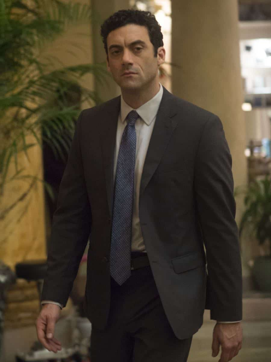 "Morgan Spector as Dante in HOMELAND (Season 7, Episode 01, ""Enemy of the State"") - Photo: Jacob Coppage/SHOWTIME - Photo: HOMELAND_701_5389.R.jpg"