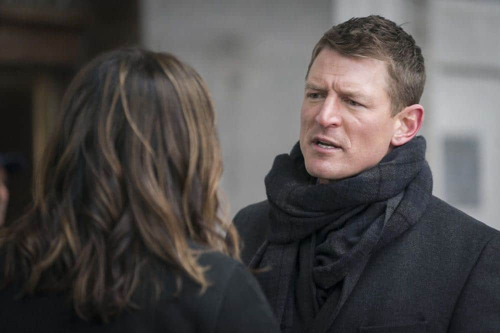 """LAW & ORDER: SPECIAL VICTIMS UNIT -- """"The Undiscovered Country"""" Episode 1913 -- Pictured: Philip Winchester as Peter Stone -- (Photo by: Michael Parmelee/NBC)"""