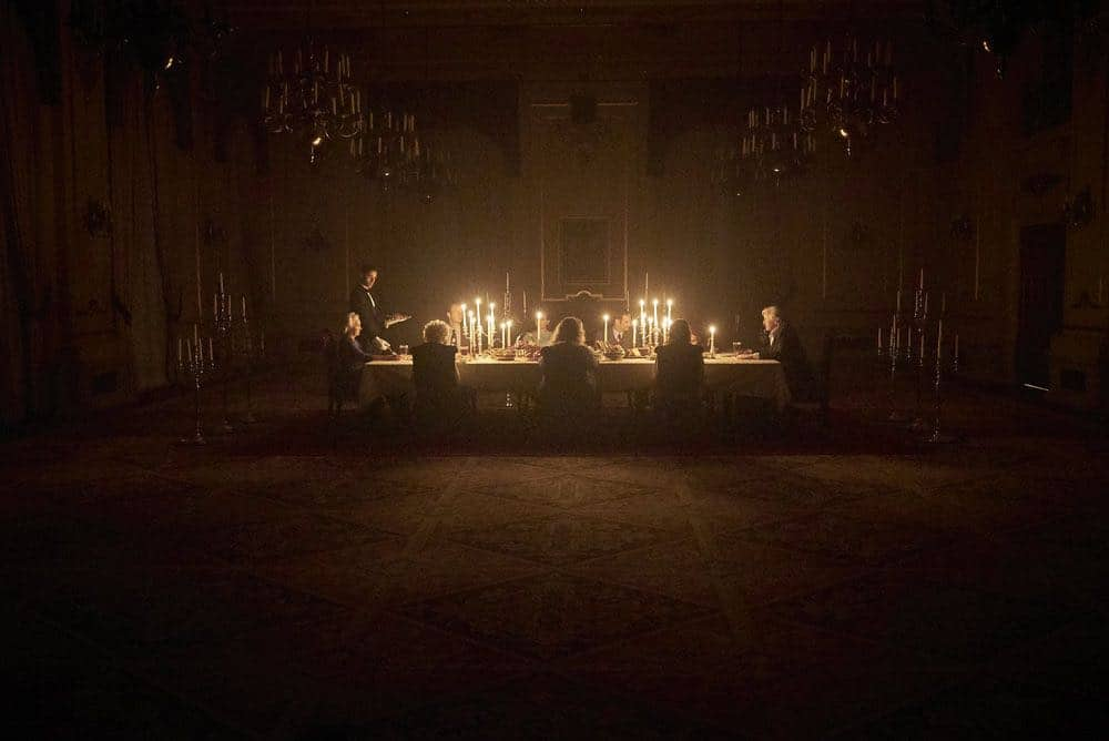 """CHANNEL ZERO: BUTCHER'S BLOCK -- """"Father Time"""" Episode 202 -- Pictured: Peach Family Dinner -- (Photo by: Allen Fraser/Syfy)"""