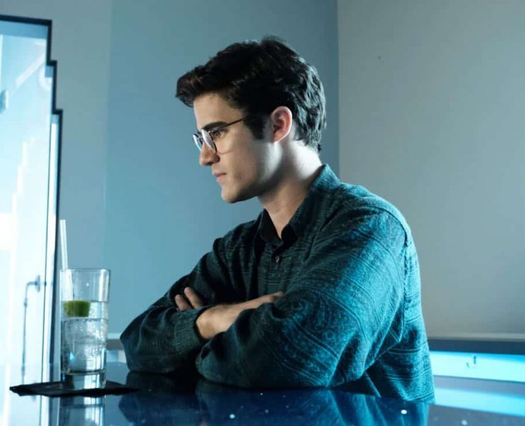 "THE ASSASSINATION OF GIANNI VERSACE: AMERICAN CRIME STORY ""Don't Ask Don't Tell"" Episode 5 (Airs Wednesday, February 14, 10:00 p.m. e/p) -- Pictured: Darren Criss as Andrew Cunanan. CR: Ray Mickshaw/FX"