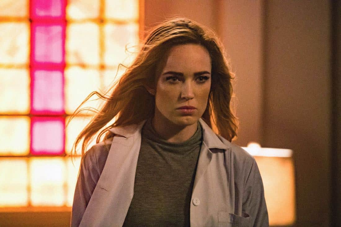 "DC's Legends of Tomorrow -- ""Daddy Darhkest"" -- Image Number: LGN310b_0511b.jpg -- Pictured: Caity Lotz as Sara Lance/White -- Photo: Jack Rowand/The CW -- © 2018 The CW Network, LLC. All Rights Reserved."