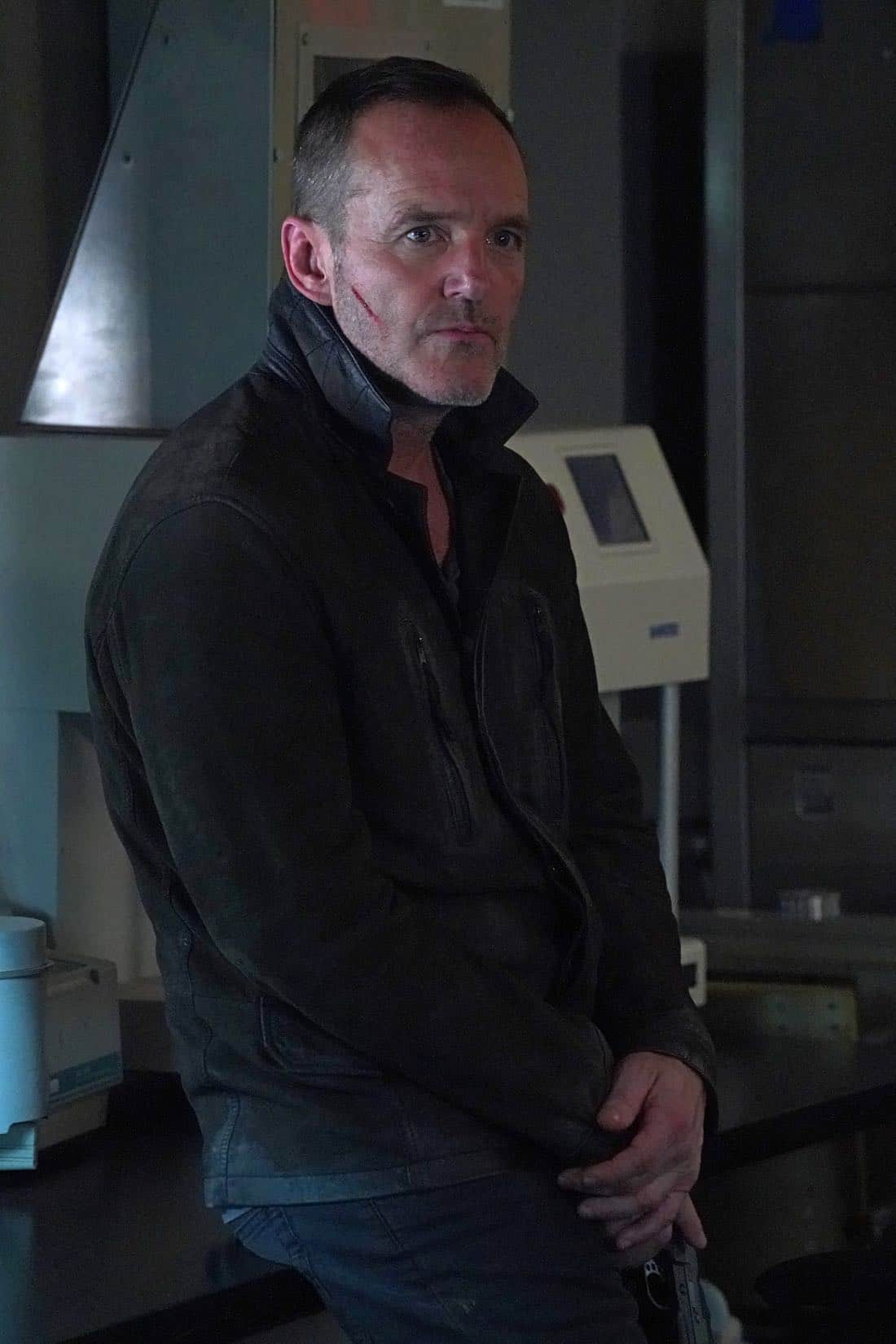 """MARVEL'S AGENTS OF S.H.I.E.L.D. - """"All the Comforts of Home"""" - Coulson and team set out to rewrite the course of humanity's fate, but they're unaware that their efforts will dramatically change one S.H.I.E.L.D agent's life, on """"Marvel's Agents of S.H.I.E.L.D.,"""" FRIDAY, MARCH 2 (9:01-10:01 p.m. EST), on The ABC Television Network. (ABC/Byron Cohen) CLARK GREGG"""