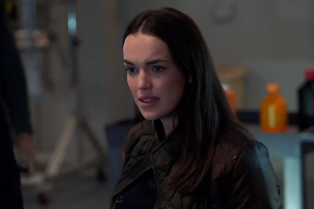 """MARVEL'S AGENTS OF S.H.I.E.L.D. - """"All the Comforts of Home"""" - Coulson and team set out to rewrite the course of humanity's fate, but they're unaware that their efforts will dramatically change one S.H.I.E.L.D agent's life, on """"Marvel's Agents of S.H.I.E.L.D.,"""" FRIDAY, MARCH 2 (9:01-10:01 p.m. EST), on The ABC Television Network. (ABC/Byron Cohen) ELIZABETH HENSTRIDGE"""