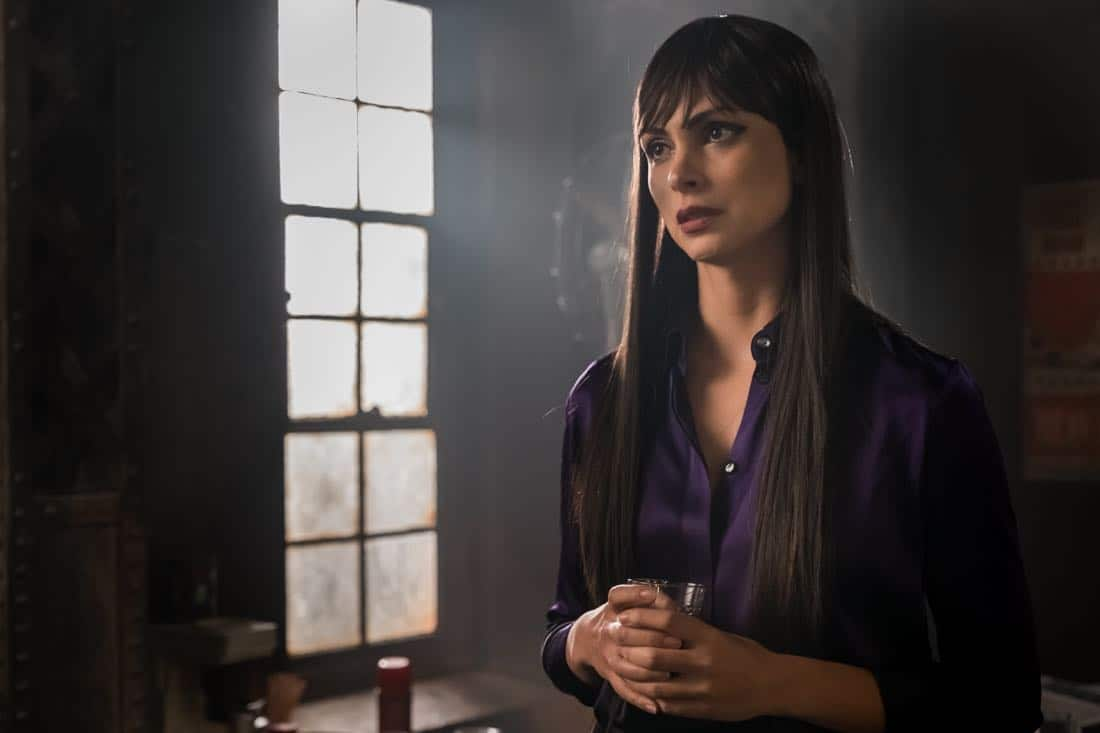 "GOTHAM: Morena Baccarin in the ""Pieces Of A Broken Mirror"" spring premiere episode of GOTHAM airing Thursday, Mar. 1 (8:00-9:00 PM ET/PT) on FOX. ©2018 Fox Broadcasting Co. Cr: Jeff Neumann/FOX"