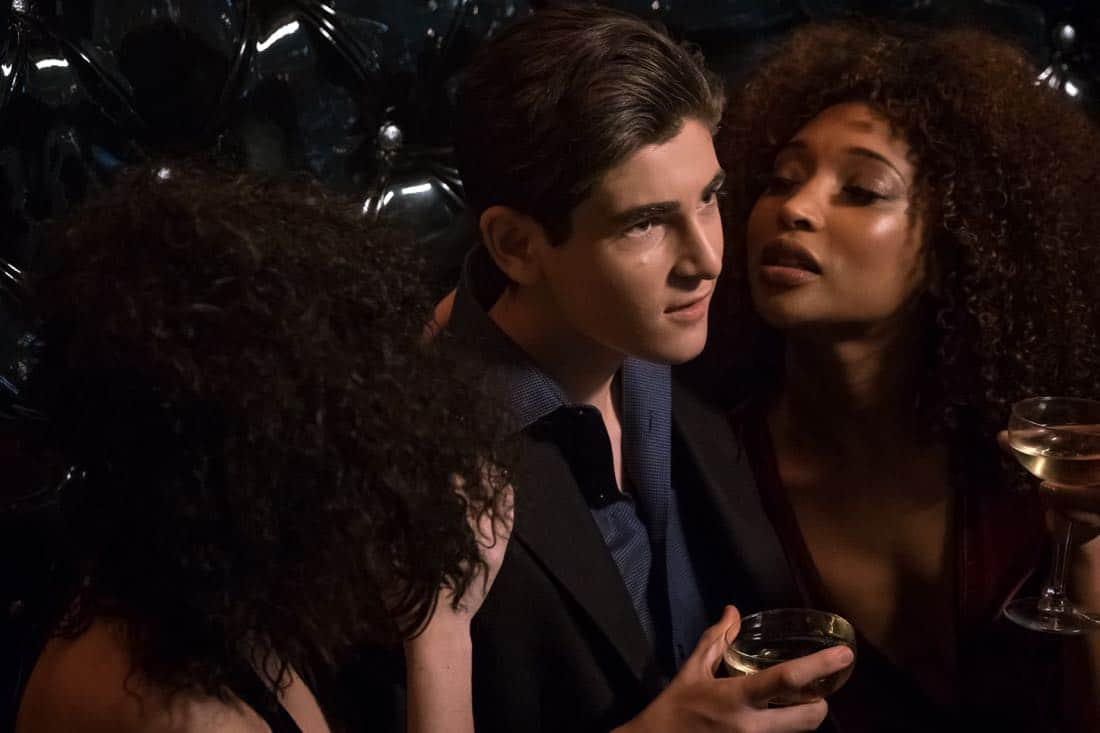 "GOTHAM: David Mazouz in the ""Pieces Of A Broken Mirror"" spring premiere episode of GOTHAM airing Thursday, Mar. 1 (8:00-9:00 PM ET/PT) on FOX. ©2018 Fox Broadcasting Co. Cr: Jeff Neumann/FOX"