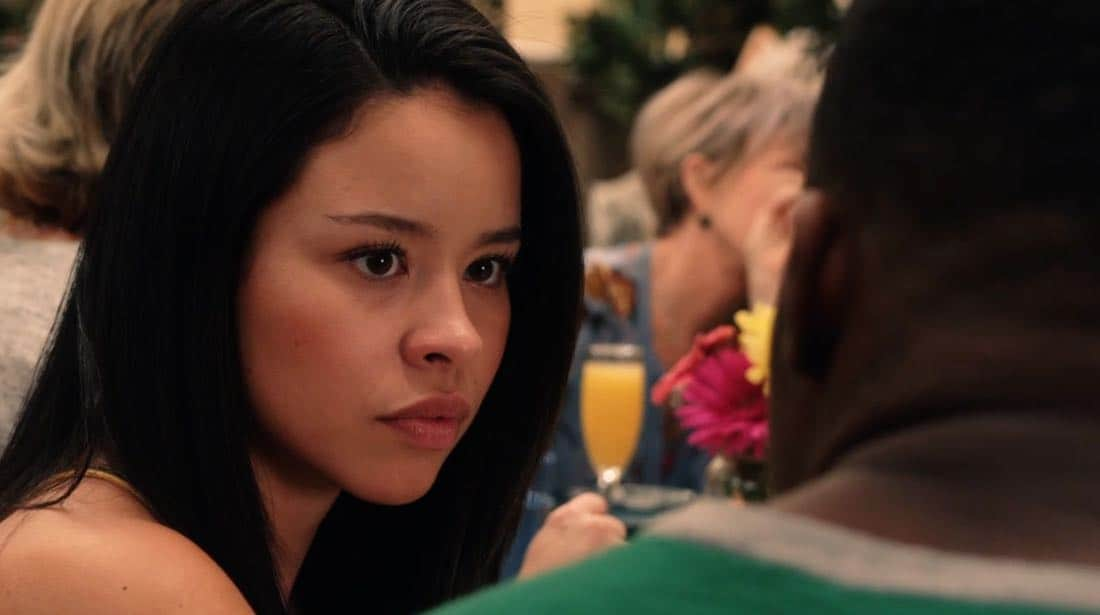 "THE FOSTERS - ""Mother's Day"" - Stef's mom comes to visit and helps Stef cope with a tough time. Meanwhile, Callie and Jude grapple with the memory of their biological mother. This episode of ""The Fosters"" airs Tuesday, February 13 (8:00 - 9:01 p.m. EST) on Freeform. (Freeform) CIERRA RAMIREZ"