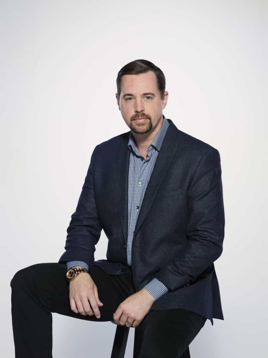 Sean Murray of the CBS series NCIS, scheduled to air on the CBS Television Network. Photo: Kevin Lynch/CBS © 2017 CBS Broadcasting Inc. All Rights Reserved.