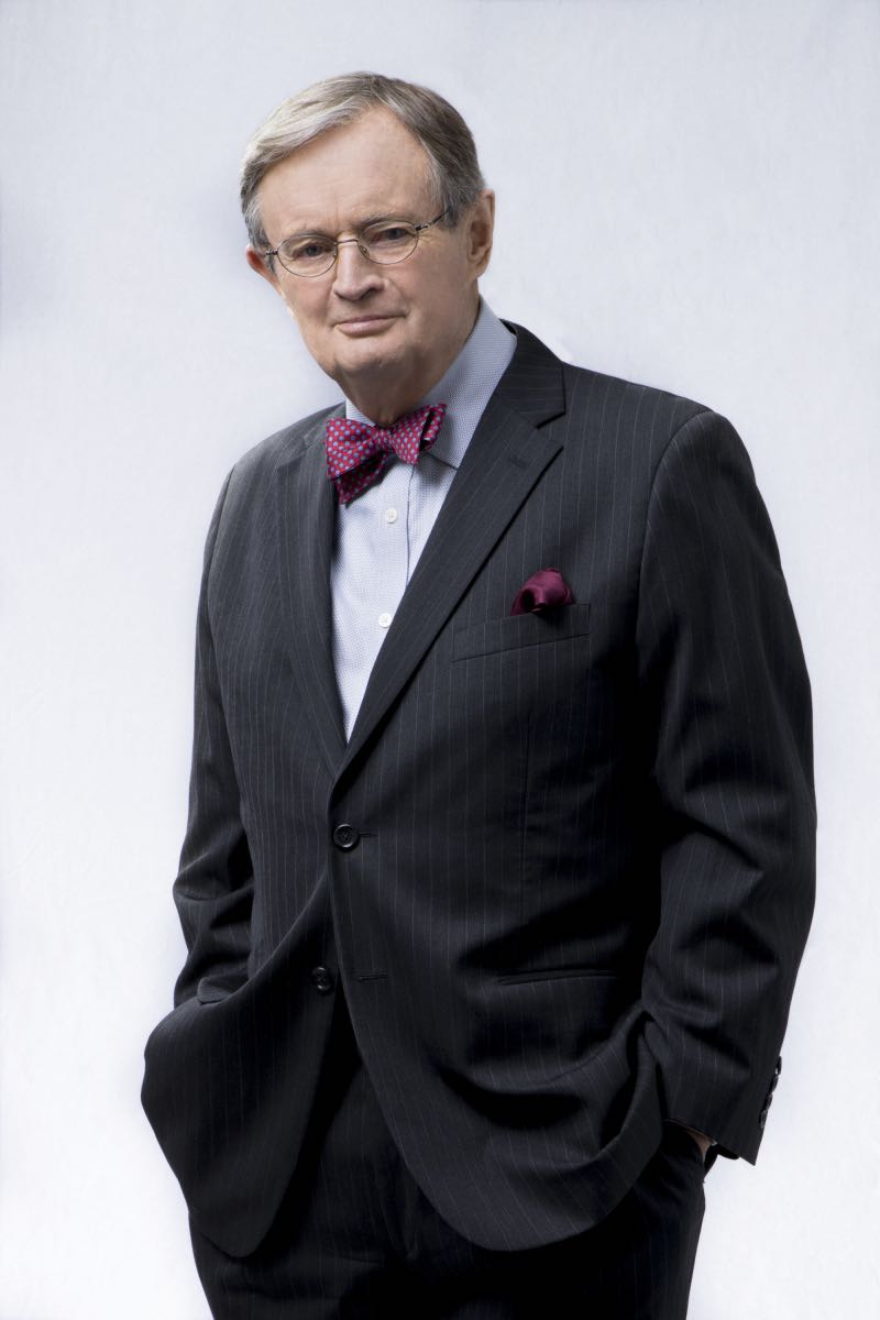 David McCallum of the CBS series NCIS, scheduled to air on the CBS Television Network. . Photo: John Paul Filo/CBS ©2017 CBS Broadcasting, Inc. All Rights Reserved