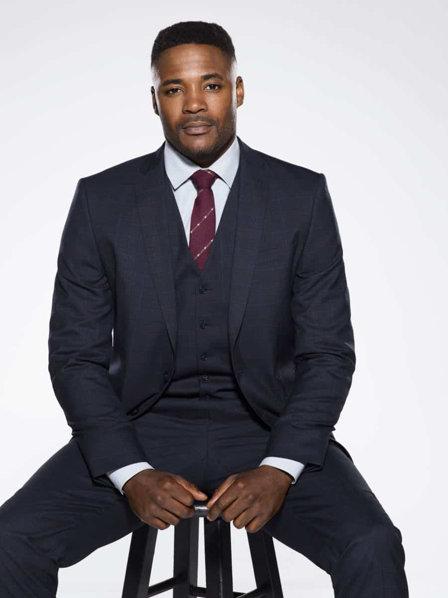 Duane Henry of the CBS series NCIS, scheduled to air on the CBS Television Network. Photo: Kevin Lynch/CBS © 2017 CBS Broadcasting Inc. All Rights Reserved.