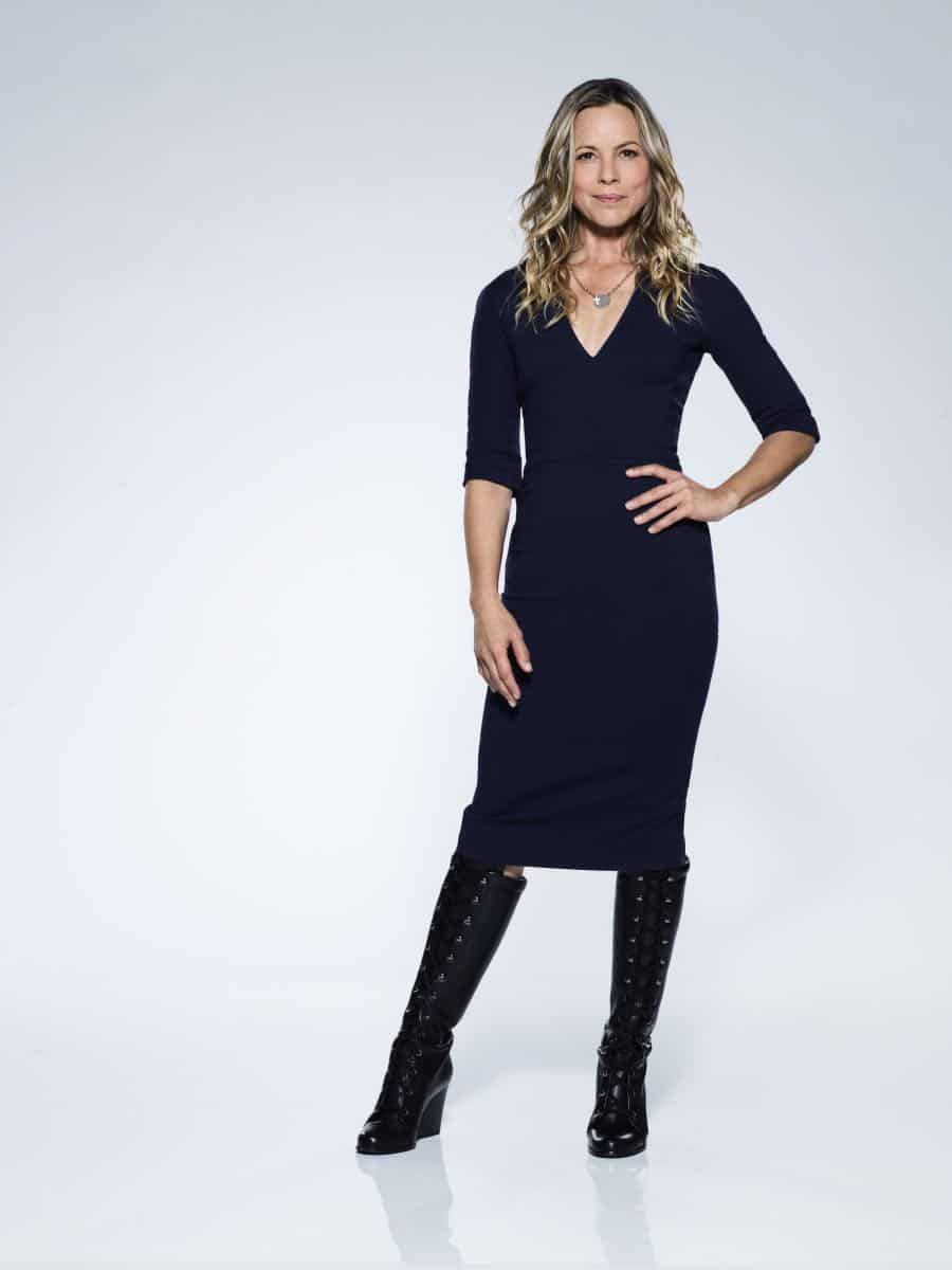 Maria Bello of the CBS series NCIS, scheduled to air on the CBS Television Network. Photo: Kevin Lynch/CBS © 2017 CBS Broadcasting Inc. All Rights Reserved.