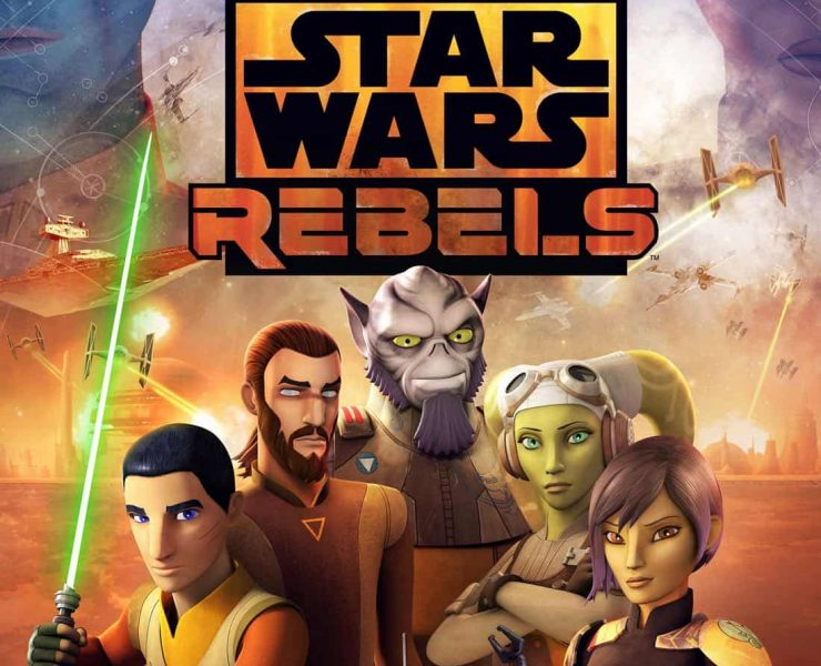 STAR WARS REBELS Finale Key Art