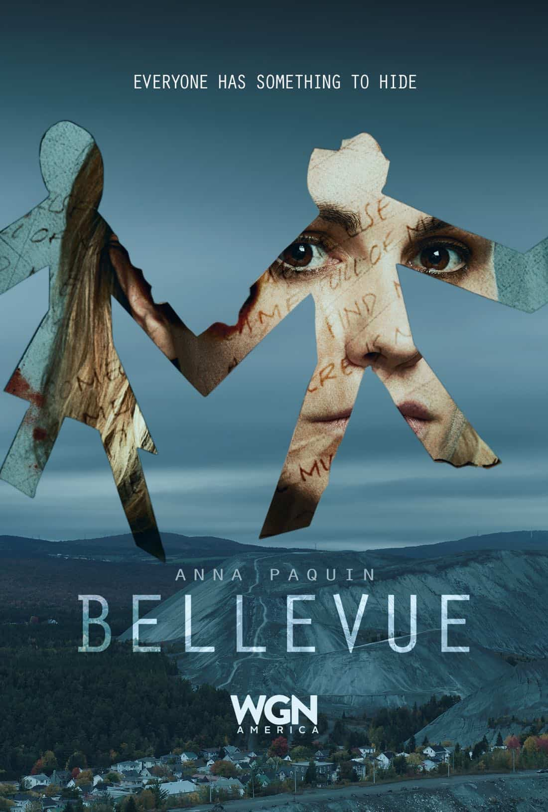 Bellevue Season 1 Cutout Doll Poster