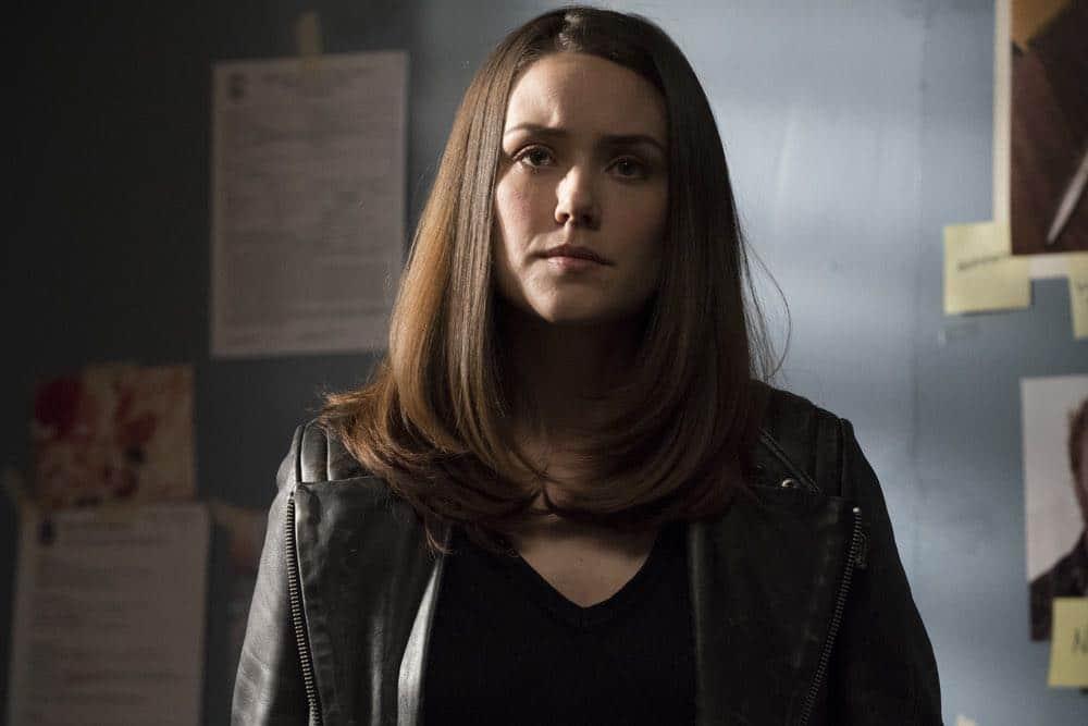 "THE BLACKLIST -- ""Mr. Raleigh Sinclair III (#51)"" Episode 514 -- Pictured: Megan Boone as Elizabeth Keen -- (Photo by: Virginia Sherwood/NBC)"
