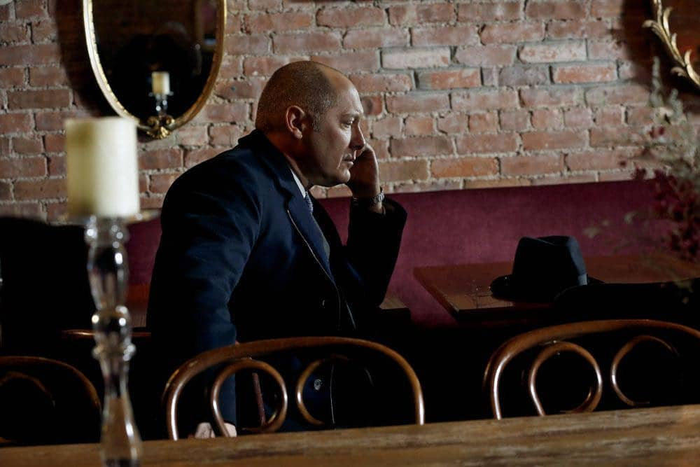 """THE BLACKLIST -- """"Mr. Raleigh Sinclair III (#51)"""" Episode 514 -- Pictured: James Spader as Raymond """"Red"""" Reddington -- (Photo by: Will Hart/NBC)"""