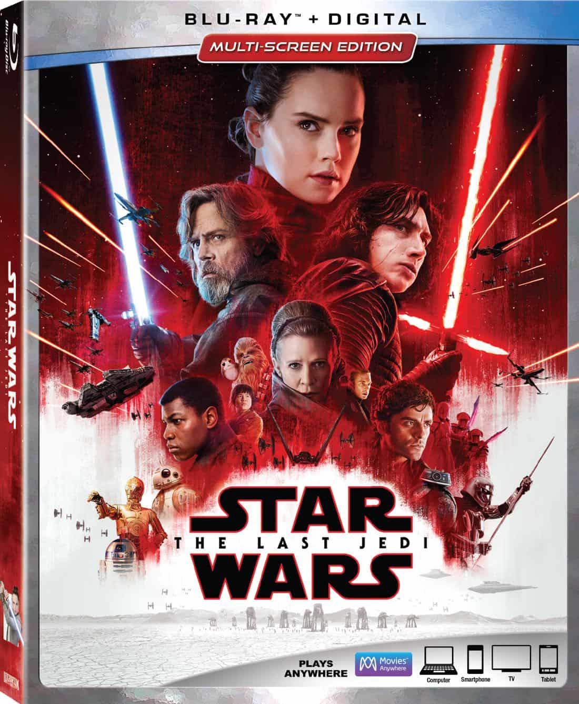 Star Wars The Last Jedi Bluray Box Cover Artwork