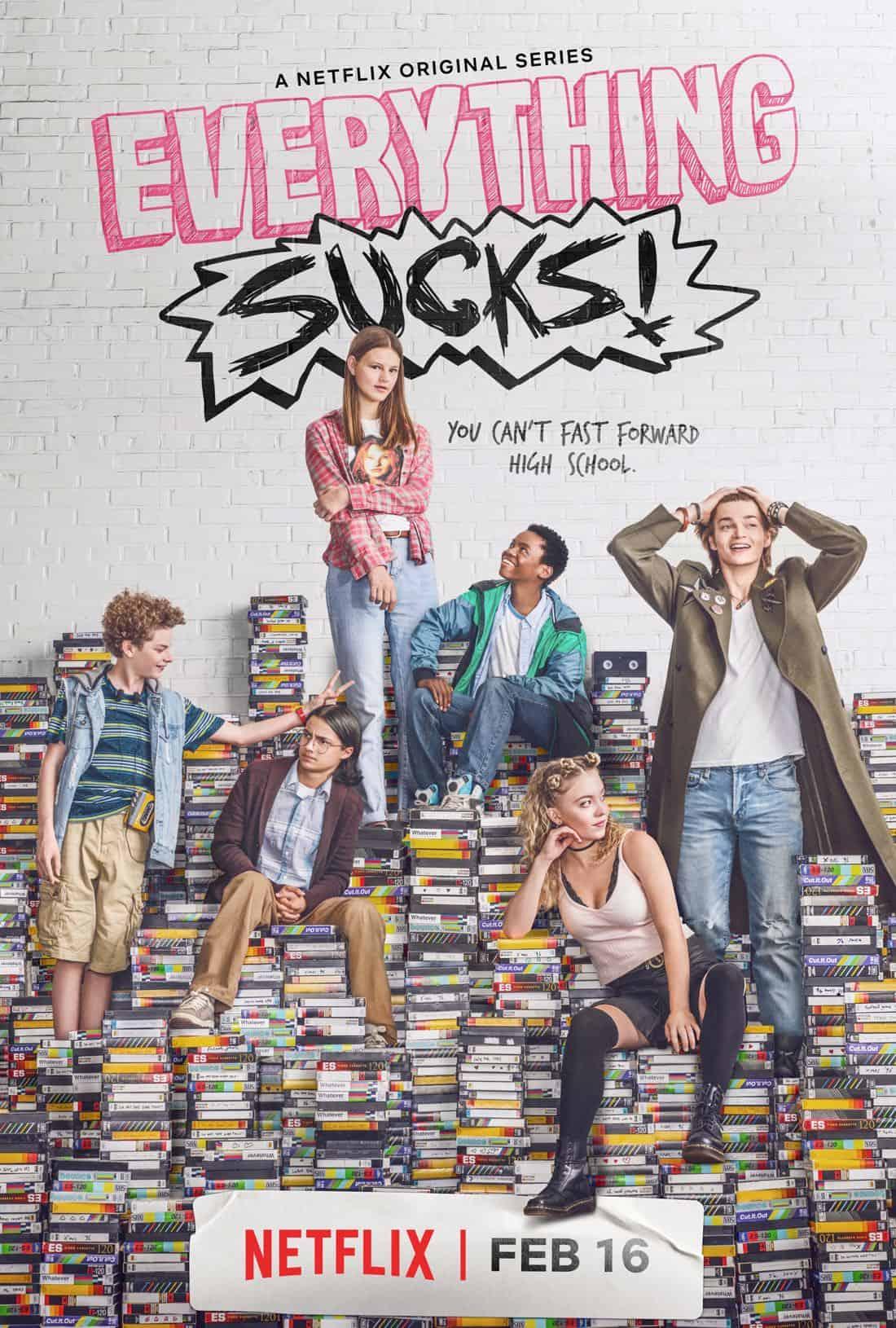 EVERYTHING SUCKS Season 1 Poster