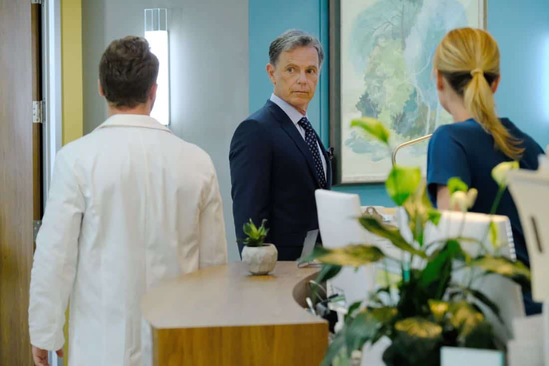 "THE RESIDENT:  Bruce Greenwood in the ""None the Wiser"" episode of THE RESIDENT airing Monday, Feb. 26 (9:00-10:00 PM ET/PT) on FOX.  ©2018 Fox Broadcasting Co.  Cr:  Guy D'Alema/FOX"