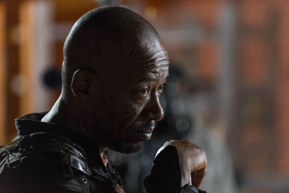 Lennie James as Morgan Jones - The Walking Dead _ Season 8, Episode 9 - Photo Credit: Gene Page/AMC