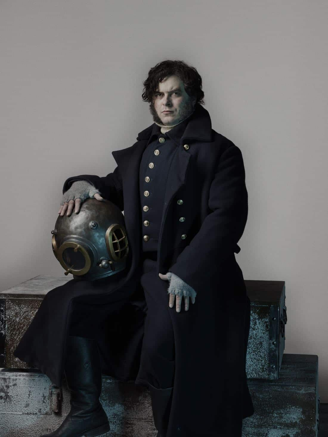 Trystan Gravelle as Henry Collins - The Terror _ Season 1, Gallery - Photo Credit: Nadav Kander/AMC