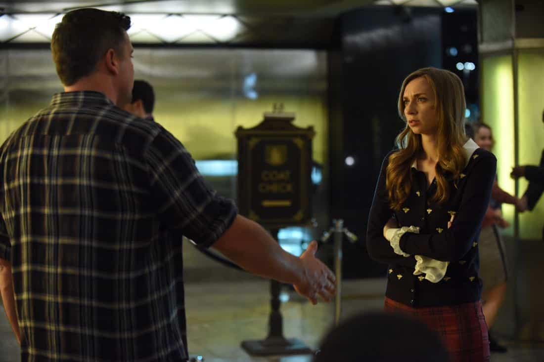 "LUCIFER: L-R: Tom Welling and guest star Lauren Lapkus  in the""Infernal Guinea Pig"" episode of LUCIFER airing Monday, March 5 (8:00-9:00 PM ET/PT) on FOX. CR: Ray Mickshaw/FOX"